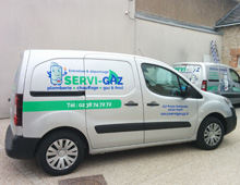 Covering véhicule – Servi-Gaz