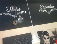 Décoration intérieure – Mio Café